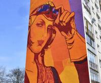 Gdańsk miastem murali